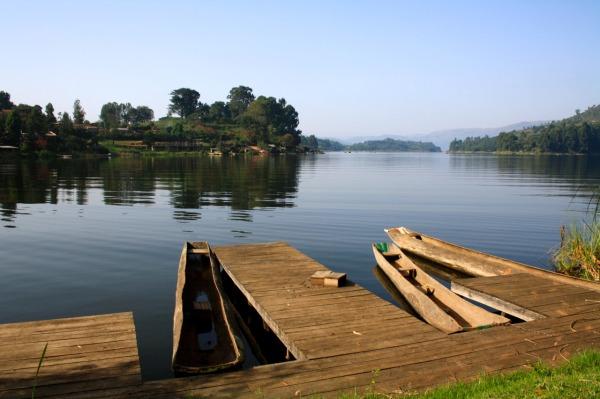 Lake Bunyonyi. Edwina Storie